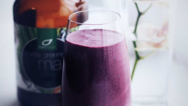 Min «morning power smoothie»