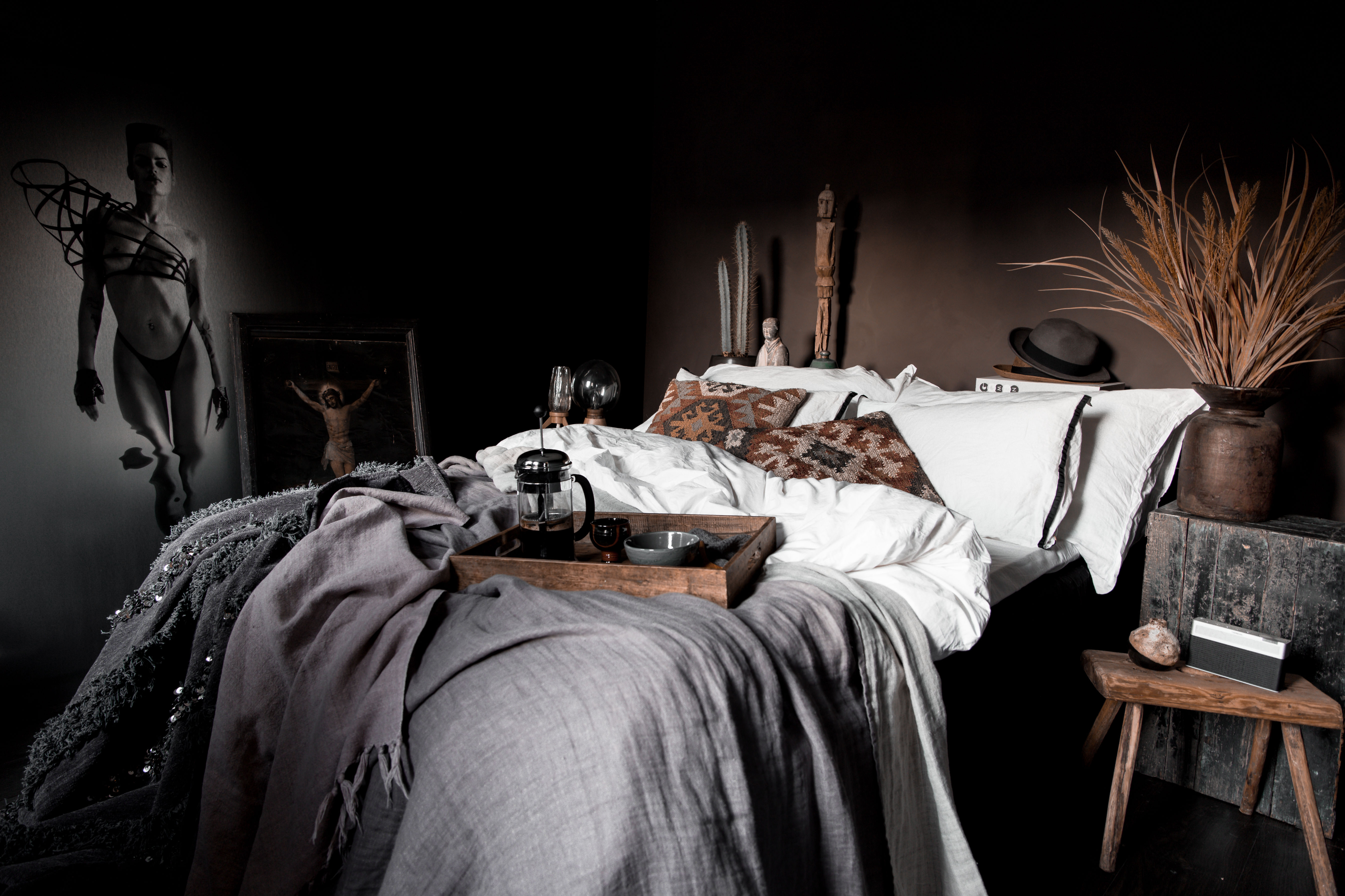 Another season – another bedroom